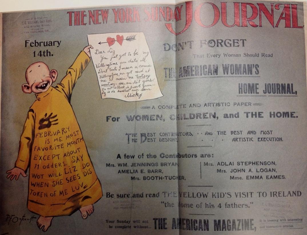 The battle between the new york world new york journal 1895 96